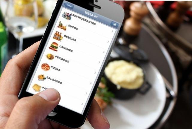Sistema de pedido via Smartphone